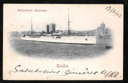 Messagerie Maritime - Tonkin - Haq105 - Passagiersschepen