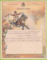 TELEGRAMME - TELEGRAM  B.13 (F.) - Deposé à EGHEZEE >> LIEGE - Grof Papier 1945 Papier Rude - Stamped Stationery