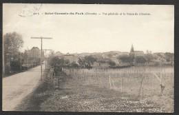 SAINT GERMAIN Du PUCH Rare Vue Générale Et La Route De Libourne (Garde) Gironde (33) - Autres Communes