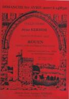Vente Aux Enchéres Publiques/Collection Jean KERHOR/Vieux Papiers/Catalogue/Maitre Bisman/Rouen/2007      CAT122 - Francia