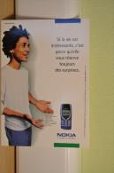 Carte Boomerang - Nokia - Publicité