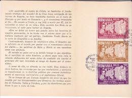SPAIN-EXILES MION MOTA & VASILE MARIN  1962 BOOKLET,ROMANIA. - Carnets