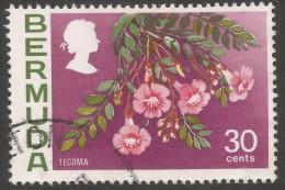 Bermuda. 1970 Flowers, 30c Used. SG 261 - Bermuda