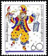 Timbre-poste Gommé Neuf** - Sesquicentenaire Du Carnaval De Mayence - N° 1181 (Yvert) - Allemagne Fédérale 1988 - [7] Repubblica Federale