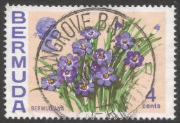 Bermuda. 1970 Flowers, 4c Used. SG 252 - Bermuda
