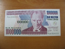AC - TURKEY - 7th EMISSION 1 000 000 TL P 14 WATERMARK TYPE 3 UNCIRCULATED - Turquie
