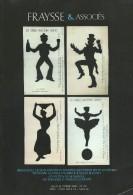 Vente Aux Enchéres Publiques/Livres/Arts Populaires Et Objets De Curiosité/Fraysse/Drouot//2008      CAT123 - Francia
