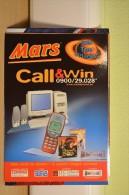 Carte Boomerang - Mars - Publicité