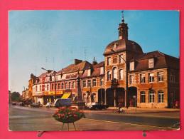 Carte Très Peu Courante - Belgique - Saint Ghislain - Place Des Combattants - 1973 - Joli Timbre - Scans Recto-verso - Saint-Ghislain
