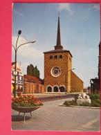 Carte Très Peu Courante - Belgique - Saint Ghislain - L'Eglise - Joli Timbre - Scans Recto-verso - Saint-Ghislain