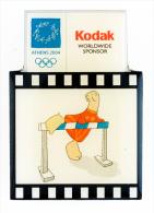 Greece Athens 2004 Olympics Kodak Pin Hurdles - NEW - Giochi Olimpici