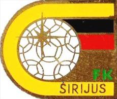 Football Soccer. Pin Lithuania. Sirijus  Klaipeda - Football