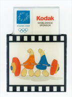 Greece Athens 2004 Olympics Kodak Pin Weight Lifting - NEW - Giochi Olimpici