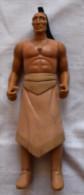 Vintage Disney Toy Figurine Pocahontas' Father Chief Powhatan - Père Chef Indien - Disney
