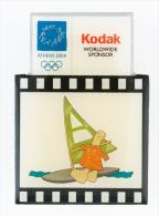 Greece Athens 2004 Olympics Kodak Pin Surfer - NEW - Giochi Olimpici