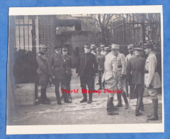 CPA Photo - Grand Quartier Général Français - Conseil De Guerre Des Alliés - Général Joffre Porro Pechitch Douglas Haig - Oorlog 1914-18