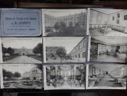 """Nantes - Carnet De 26 Cartes Postales """"Maison De Travail Et De Secours De St. Joseph"""" Asile Pour Vieillards Et Aveugles - Nantes"""