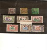 Tunisie - Serie Compléte N° 50 A 58 Trés Belle Oblitéraion ,timbrepremier Choix TB - Gebraucht