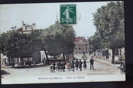 VILLIERS SUR MARNE TILLEUILS ENFANTS COLORISEE - Villiers Sur Marne