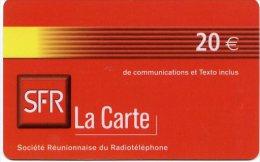@+ Recharge SFR De La Réunion - 20€. Date Limite : 12/05.