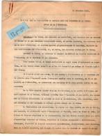 VP3562-   PARIS X LE MANS - Tabac - Lot De Documents Concernant La Fabrication Du Caporal Doux & Appareils - Documenten