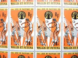 WALLIS ET FUTUNA - Feuille De 25 Ex Du N° PA 63 - Luxe - A Voir - P17373 - Unused Stamps