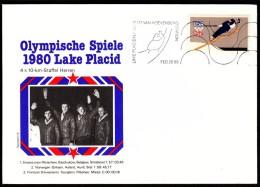 USA Lake Placid Van Hoevenberg Station 1980 Olympic Games Lake Placid, Bobsleigh, Jump Skiing - Hiver 1980: Lake Placid