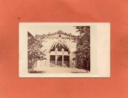TOSCANE   Grotte De Buontalenti Au Jardin De Boboli  CDV Année 1900  Dimension  10cmX6cm - Antiche (ante 1900)