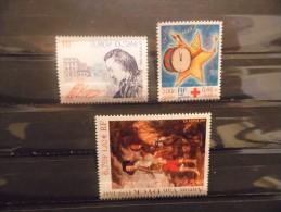 FRANCE - Année 1999 - N° 3287 à 3289 Neuf ** - Nuovi