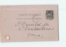 GRENOBLE - Epicerie Louis GIRARD -  Commande 20 Bouteilles ABSINTHE Adressée à PERNOD Fils De Pontarlier - 2 Scans - Grenoble
