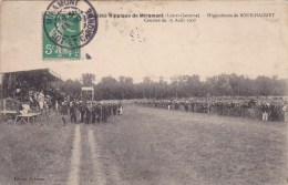 Miramont,hippodrome De Bouilhaguet,courses Du 15 Aout 1907 - Autres Communes