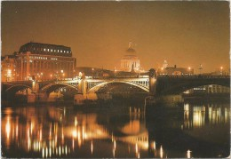 O2438 London - Saint Paul's Cathedral - Night Nuit Notte Nacht Noche / Viaggiata 1991 - St. Paul's Cathedral
