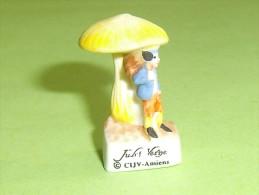 """Fèves / Fève / Personnages : Jules Verne , Voyage Au Centre De La Terre   """" Mat """"      T23 - Characters"""