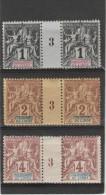 Etablis.  De L´Inde _ 3 Millésimes ( 1893  ) - India (1892-1954)