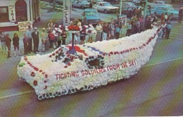 1st Prize Float Memorial Day Parade 29 May 1966 Hazel Park Michigan - Eventi