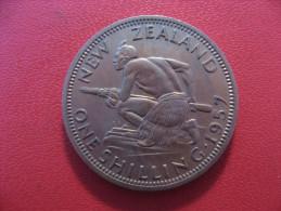 Nouvelle-Zélande - One Shilling 1957 Elizabeth II 5402 - Nouvelle-Zélande