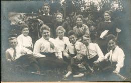 Carte Photo Origine Belgique Aucune Indication (provenance Famille) - Belgique