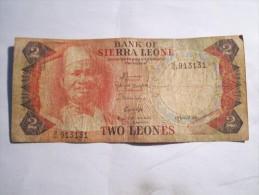 -----1 BILLET---2---LEONES--1984------SIERRA-LEONE----- - Sierra Leone