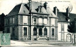 N°48641 -cpa Sézanne -la Caisse D'Epargne- - Banques