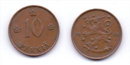 Finland 10 Pennia 1929 - Finlande