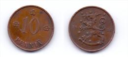 Finland 10 Pennia 1936 - Finnland