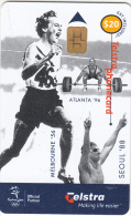 AUSTRALIA(chip) - Olympics/Betty Cuthbert The Golden Girl, Exp.date 30/09/02, Used - Jeux Olympiques