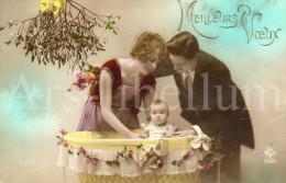 Postcard / CP / Postkaart / Baby / Bébé / Couple / Ed. A. Noyer / No 3592 - Grupo De Niños Y Familias