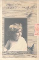 EMILIO  ALONSO CRIADO LE ENVIA ESTA POSTAL  A HONORINA PETTIROSSI EN 1904 EN ASUNCION DE PARAGUAY - Autographs