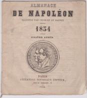 ALMANACH DE NAPOLÉON 1854 - Calendriers
