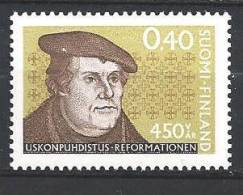 Finlande 1967 N°599 Martin Luther