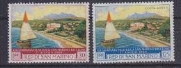 San Marino 1960 Riccione 2v  ** Mnh (gum Partly Brown) (SAN027) - Nuevos