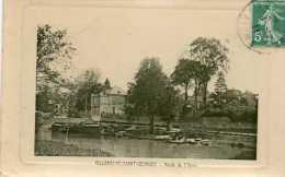 CPA - VILLENEUVE-SAINT-GEORGES (94) - Aspect Du Quartier Sur Les Bords De L'Yerre En 1911 - Villeneuve Saint Georges