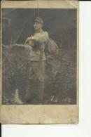 B172   --  AUSTRIA   --  KuK   --  ORIGINAL PHOTO --  GEWEHR, BAYONET --  PC FORMAT - 1914-18