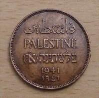 PALESTINE 2 Mils 1941 - Colonias
